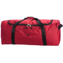 "Athalon Equipment Camping Duffel Bag - 34"" in Red - Closeouts"