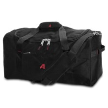 """Athalon Equipment/Camping Duffel Bag - 21"""" in Black - Closeouts"""