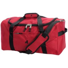 """Athalon Equipment/Camping Duffel Bag - 21"""" in Red - Closeouts"""