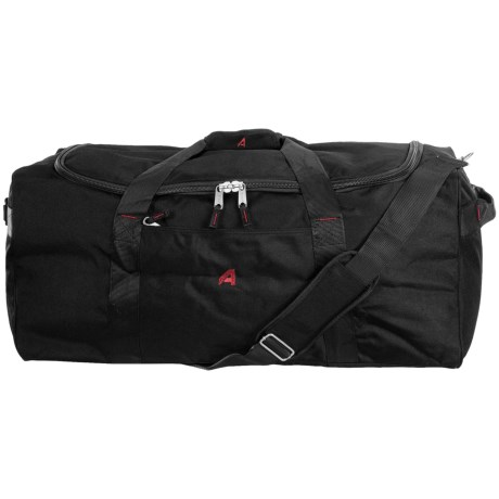 "Athalon Equipment/Camping Duffel Bag - 29"" in Black"