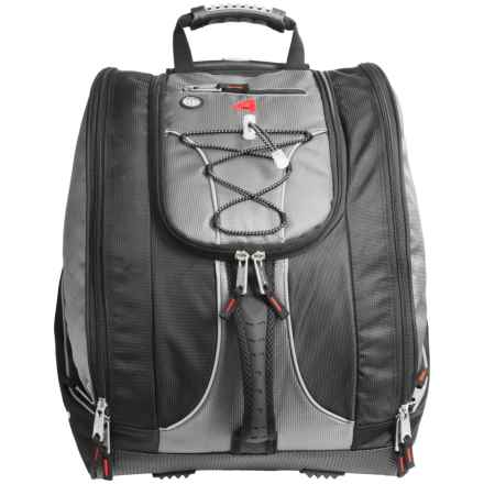 Athalon Everything Rolling Ski Boot Bag in Black - Closeouts