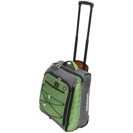 "Athalon Glider Rolling Carry-On Suitcase - 21"" in Grass Green - Closeouts"