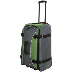 """Athalon Hybrid Pullman 26"""" Rolling Luggage in Grass Green"""