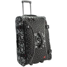 "Athalon Hybrid Pullman 29"" Rolling Luggage in Bandana Black - Closeouts"