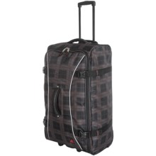 "Athalon Hybrid Pullman 29"" Rolling Luggage in Plaid - Closeouts"