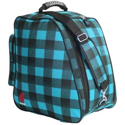 Athalon Light and Go Boot Bag in Teal Black - Closeouts