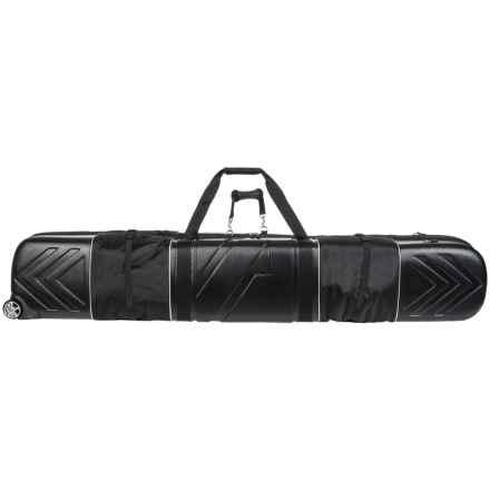 Athalon Multi-Use Wheeled Ski/Snowboard Bag - 180cm in Black - Closeouts