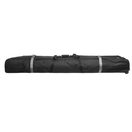 Athalon Multi-Use Wheeled Ski/Snowboard Bag - 185cm in Black