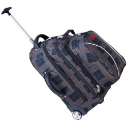 Athalon Rolling Backpack - Luggage in Black