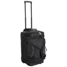 "Athalon Rolling Equipment Duffel Bag -22"" in Black - Closeouts"