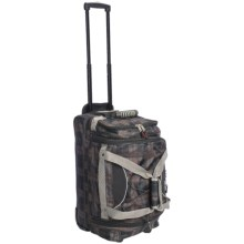 "Athalon Rolling Equipment Duffel Bag -22"" in Plaid - Closeouts"
