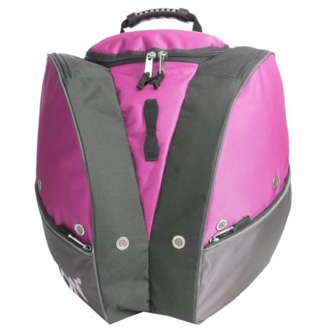 Athalon Ski Boot Bag in Pink/Grey