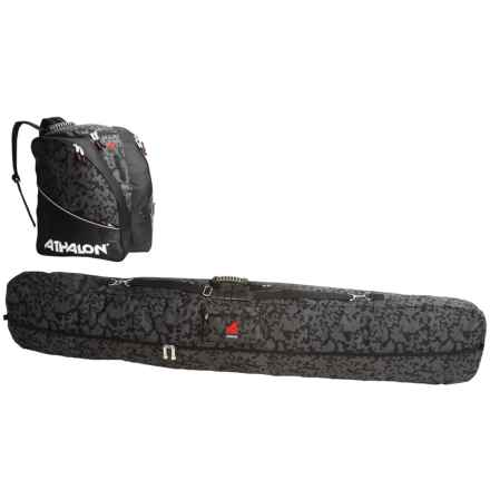 Athalon Snowboard and Boot Bag Set - 2-Piece in Nightvision - Closeouts