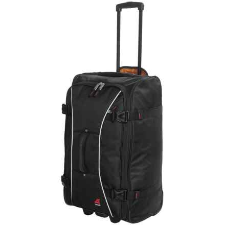 "Athalon Sportgear Hybrid 21"" Carry-On Luggage - Rolling in Black - Closeouts"