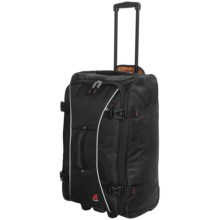 """Athalon Sportgear Hybrid 26"""" Rolling Luggage in Black - Closeouts"""