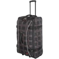 """Athalon Sportgear Hybrid 29"""" Rolling Luggage in Plaid"""