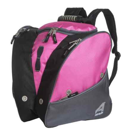 Athalon Tri-Athalon Boot Bag (For Kids) in Pink/Gray - Closeouts