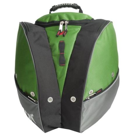 Athalon Tri- Ski Boot Bag in Grass Green