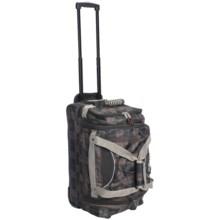 """Athalon Wheeled Equipment Duffel Bag -22"""" in Plaid - Closeouts"""