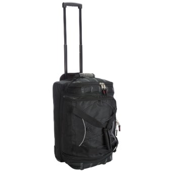 "Athalon Wheeled Equipment Duffel Bag -22"" in Black"