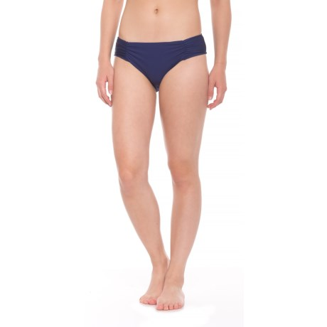 Athena Hey There Stud Hipster Bikini Bottoms (For Women) in Navy
