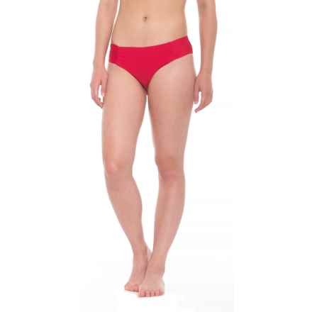 Athena Hey There Stud Hipster Bikini Bottoms (For Women) in Red - Closeouts