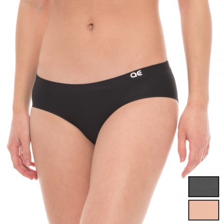 Athletic Essentials Bonded Panties - Hipster, 3-Pack (For Women) in Nude/Greystone/Black