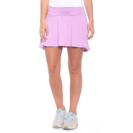 AthleticDNA Short Circle Skort (For Women) in Lilac