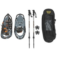 "Atlas 925 Snowshoes - 25"" in Charcoal/Flame - Closeouts"