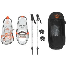 "Atlas Elektra 923 Snowshoe Kit - 23"" (For Women) in White/Coral - Closeouts"