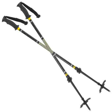 Atlas LockJaw Poles - 2-Piece in Black/Yellow - Overstock