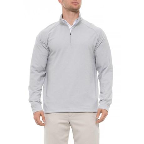 Image of Atlas Thermal Fleece Shirt - Zip Neck, Long Sleeve (For Men)