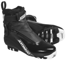 Atomic Sport Pursuit Cross-Country Ski Boots - SNS Pilot (For Men and Women) in Black - Closeouts