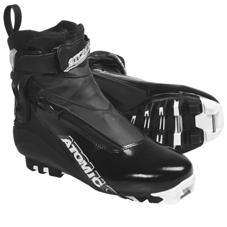Atomic Sport Pursuit Cross-Country Ski Boots - SNS Pilot (For Men and Women) in Black
