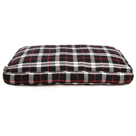 Image of Atticus Plaid Rectangle Dog Bed - 28x40?