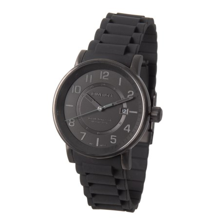 Image of Attitude Outdoor Watch - 43mm, Silicone Strap (For Men)