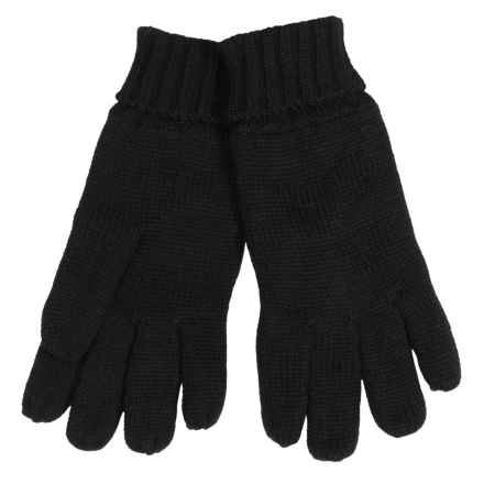 Auclair Abebi Knit Gloves - Fleece Lined (For Women) in Black - Closeouts