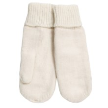 Auclair Abelia Mittens - Fleece Lined (For Women) in White - Closeouts