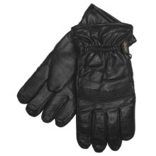 Auclair Accordion Knuckles Thinsulate® Gloves - Insulated, Leather (For Men) in Black - Closeouts