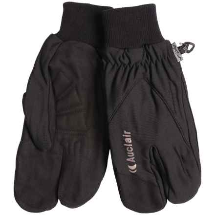 Auclair Alaska Crab Mittens - Removable Liner Glove (For Men) in Black/Grey - Closeouts