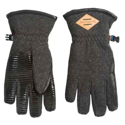 Auclair All Terrain Gloves - Waterproof, Insulated (For Women) in Heather Grey/Black - Closeouts