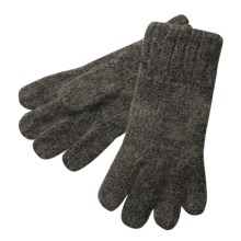 Auclair Alpaca Ragg Wool Gloves  (For Men) in Charcoal Heather - Closeouts