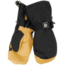 Auclair Back Country Finger Mittens - Waterproof, Insulated (For Men) in Black/Gold - Closeouts
