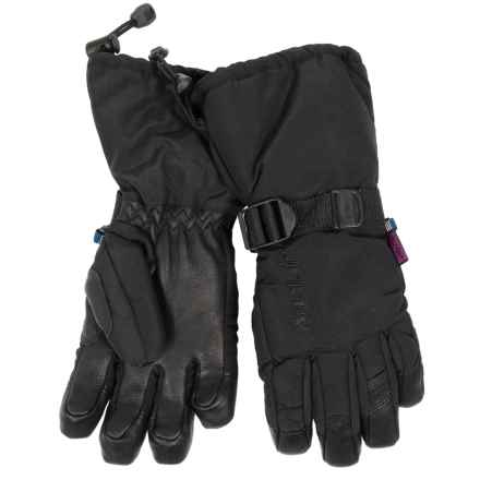Auclair Back Country Gloves - Waterproof, Insulated (For Women) in Black/Black - Closeouts