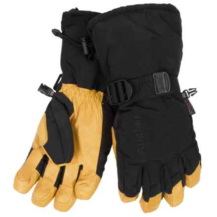 Auclair Back Country Gloves - Waterproof, Insulated (For Women) in Black/Gold - Closeouts