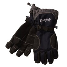 Auclair Boomer Gloves - Waterproof, Insulated (For Men) in Black - Closeouts