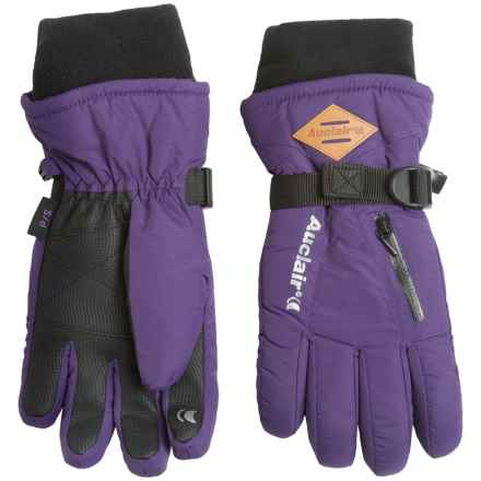 Auclair Breather Zip 2 Gloves - Waterproof, Insulated (For Women) in Acai - Closeouts