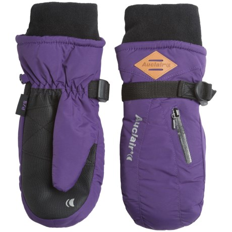 Auclair Breather Zip 2 Mittens - Waterproof, Insulated (For Women) in Acai