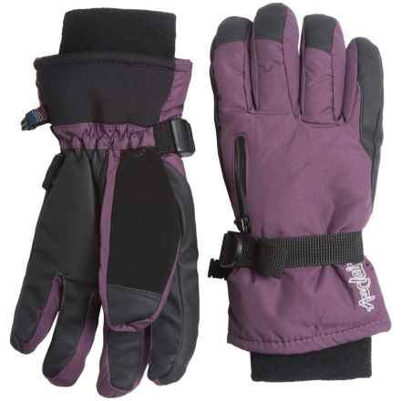 Auclair Breather Zip Gloves - Waterproof, Insulated (For Women) in Plum - Closeouts