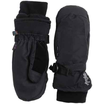 Auclair Breather Zip Mittens - Waterproof, Insulated (For Women) in Black/Black - Closeouts